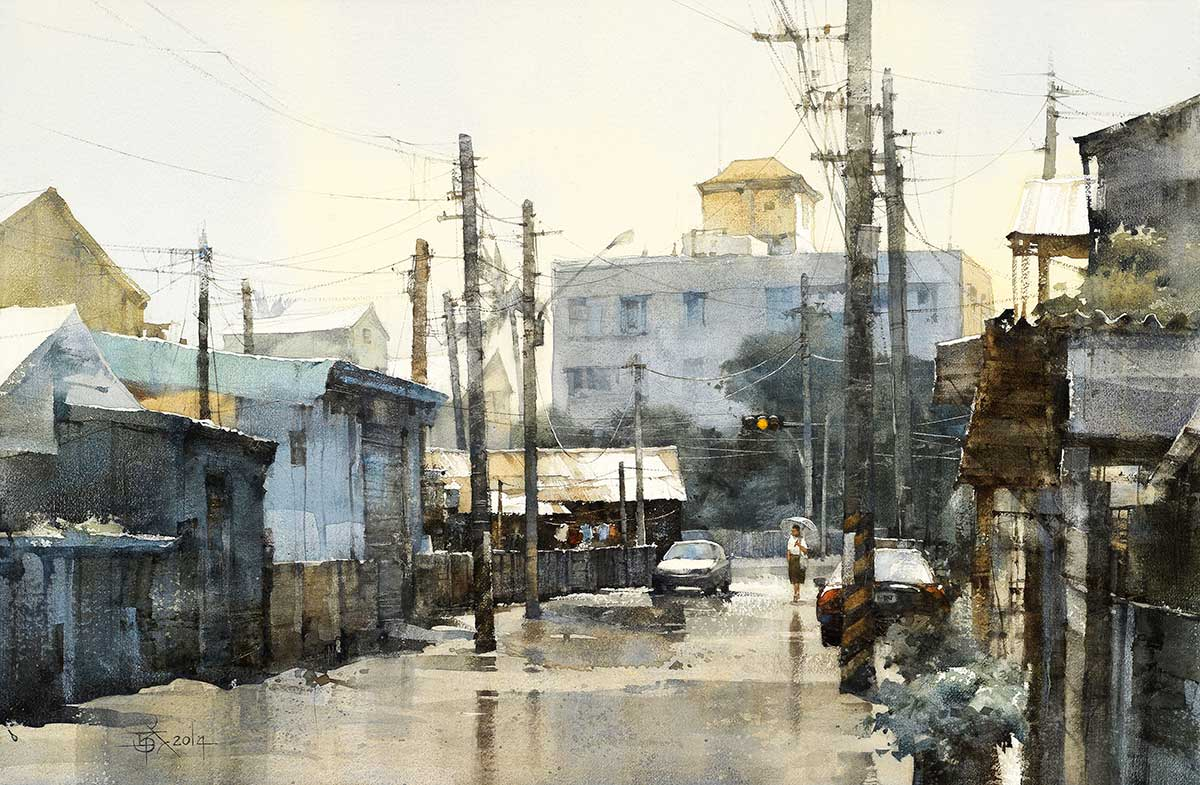 It Rained Just Now by Chien Chung-Wei