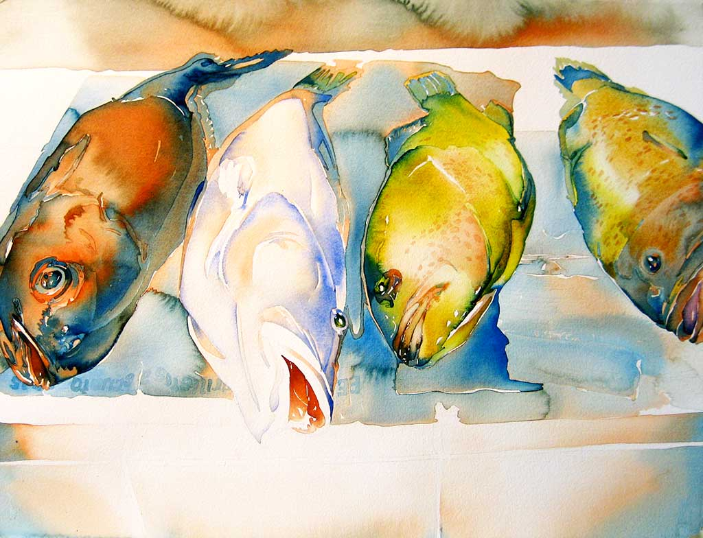 Carol Carter Watercolor Mag 1