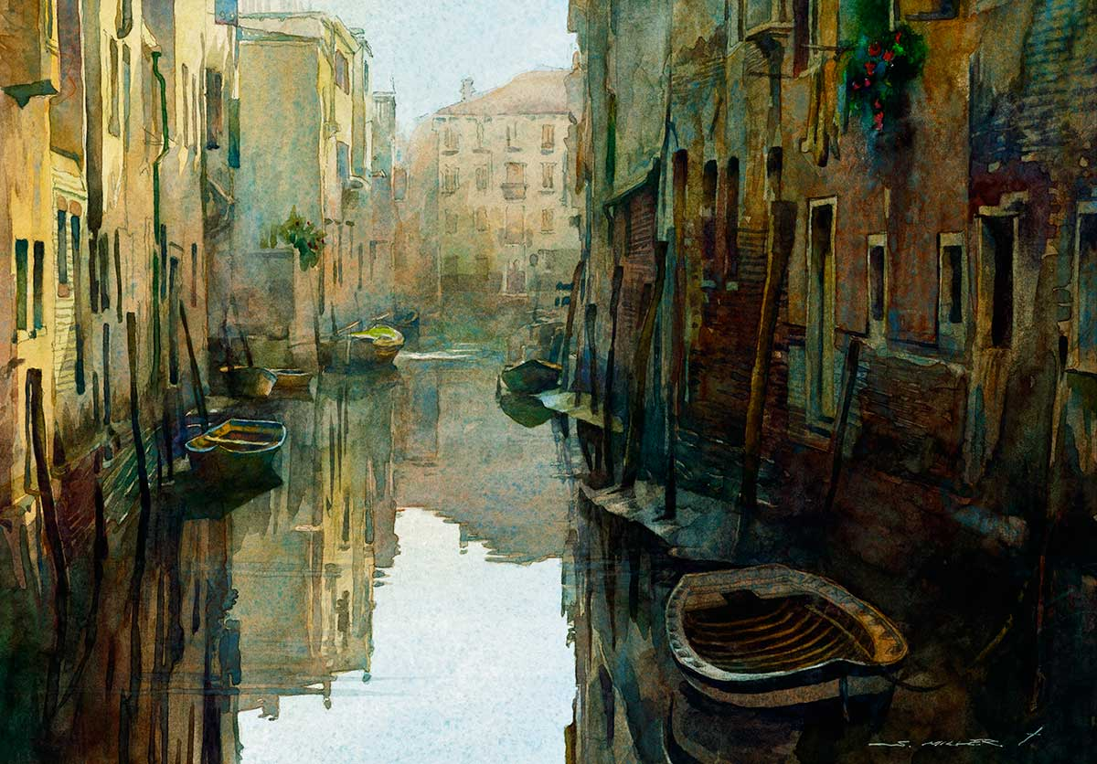 Venice Calm by Stan Miller