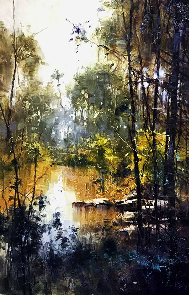 Herman Pekel watercolour