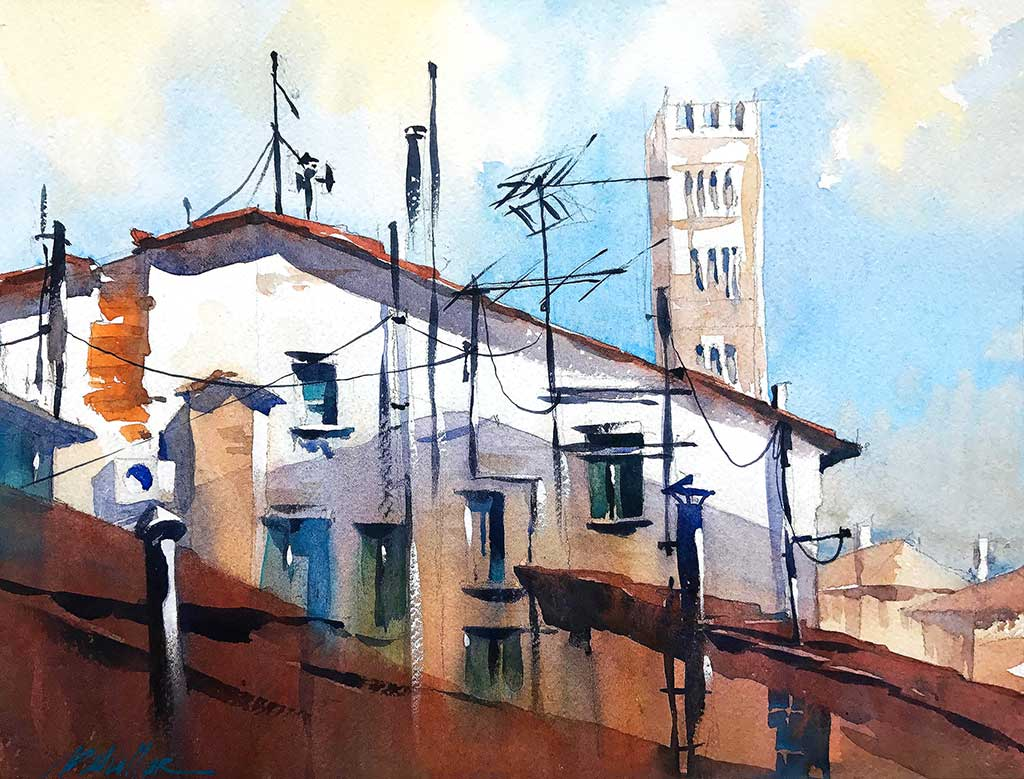 Lucca Roof by Thomas Schaller
